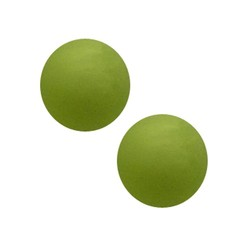 Polariskraal mat 14mm Lime