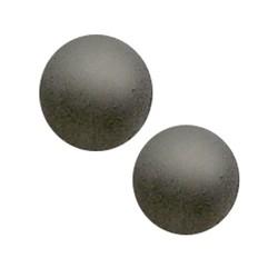 Polaris Perle 8mm matt grau