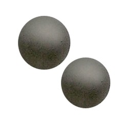 Polariskraal mat 14mm grijs