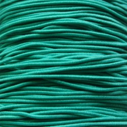 Flexible Hat Elastic Seagreen 1mm. around. per meter