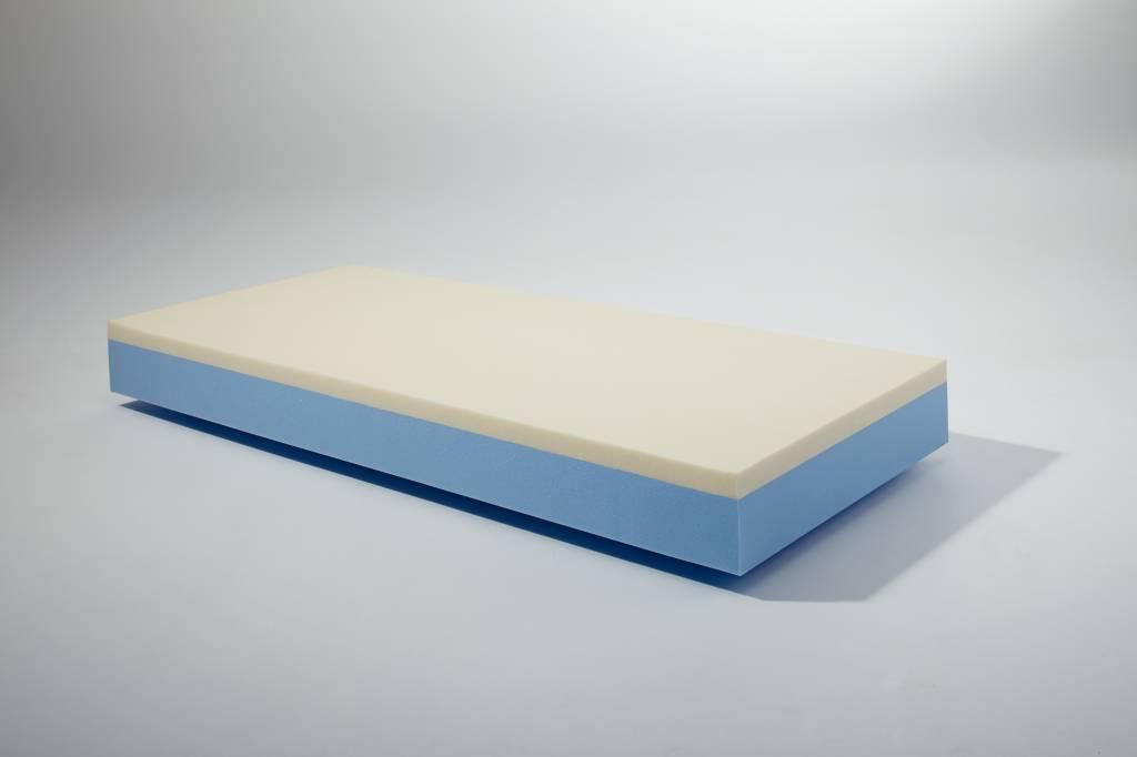 Harde Matras Gezond : Drukverlaging evopore foam matras deluxw tot kg comfortabel