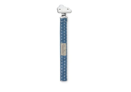 Cam Cam Copenhagen PACIFIER HOLDER Sashiko Blue