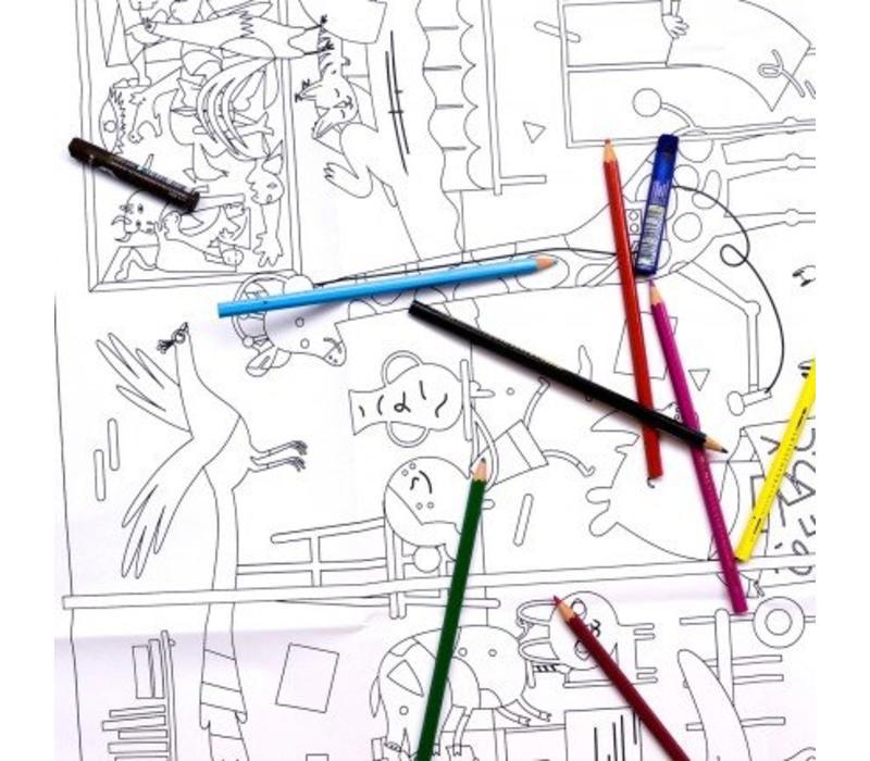 Makii Turbo Grote Kleurplaat Museum Store Of Daydreams
