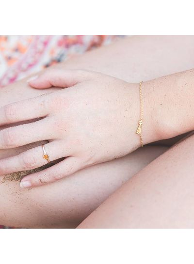 Lennebelle Petites You make my wishes come true gold (shooting star) – bracelet