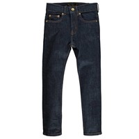 NEW NORTON raw denim blue Boy Woven 5 Pockets Straight Fit Jeans