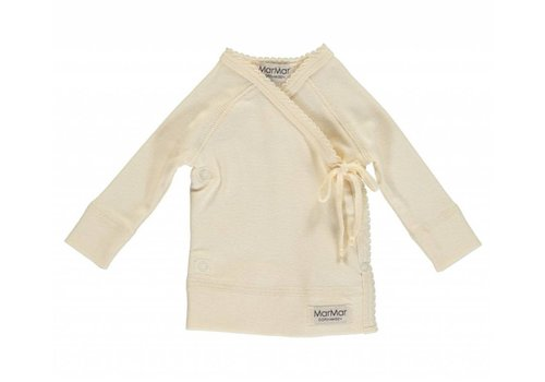MarMar Copenhagen Tut Wrap LS Modal New Born Offwhite