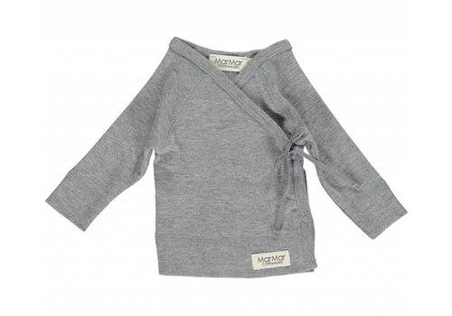 MarMar Copenhagen Tut Wrap LS Modal New Born Grey Melange