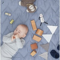 BABY BLANKET Sashiko Blue