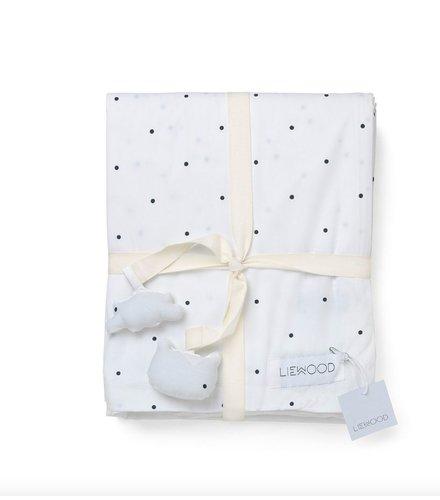 Liewood Liewood Bed Linnen Classic Dot White