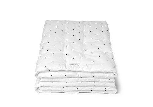 Liewood LIEWOOD Blanket / Classic Dots / White Baby Quilt