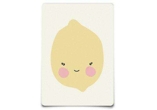 Eef Lillemor Postcard - Citron