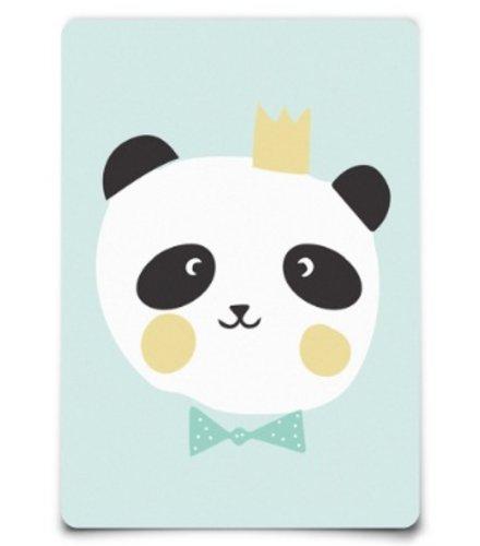 Eef Lillemor Postcard - Lovely Animals - King Panda
