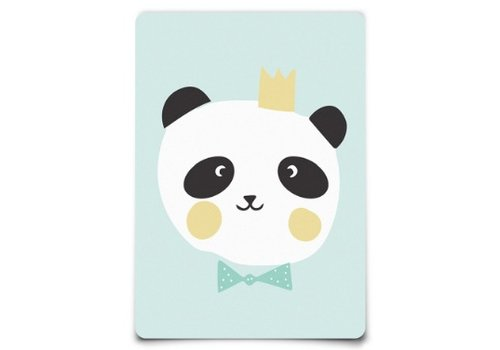 Eef Lillemor Postcard - Lovely Animals - King Panda
