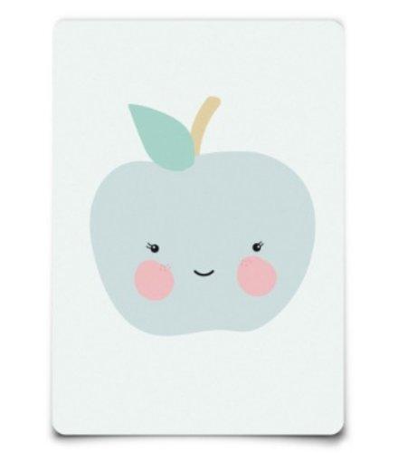 Eef Lillemor Postcard - Apple