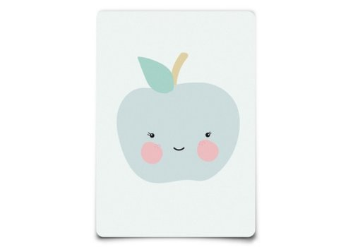 Eef Lillemor Postcard - Apple