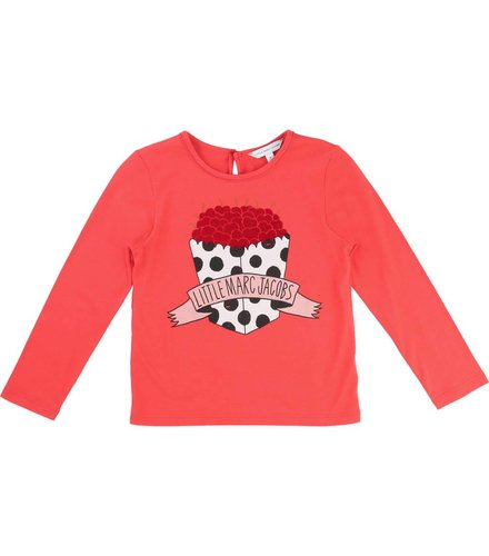 Little Marc Jacobs Tee-Shirt Manches Light Red, T-Shirt