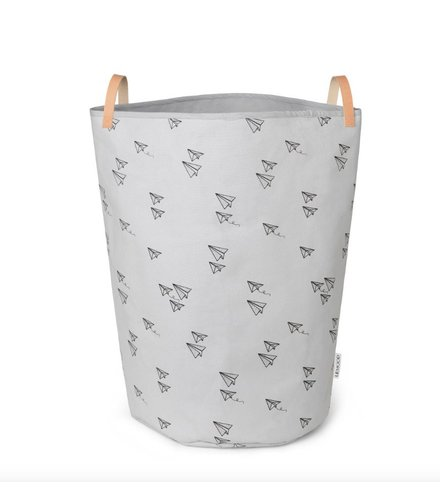 Liewood Ann fabric basket Paper plane