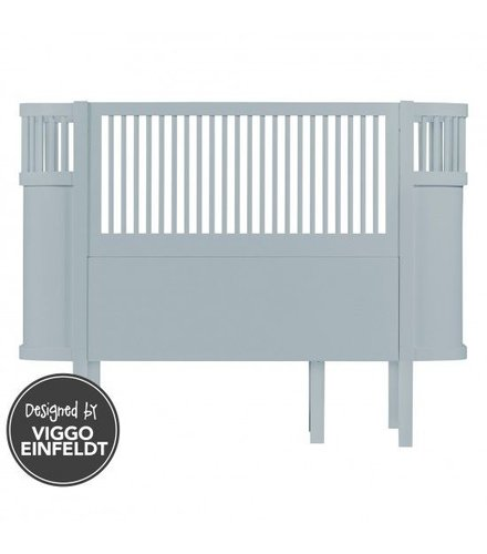 Sebra Sebra bed, baby & jr., cloud blue