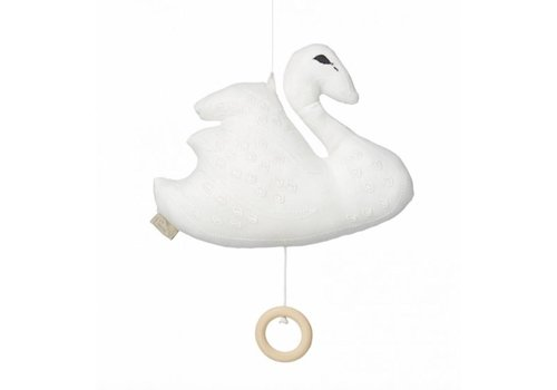 Cam Cam Copenhagen Swan Music Mobile Off White OCS