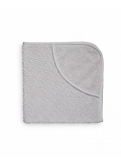 Cam Cam Copenhagen Hooded Baby Towel Grey GOTS