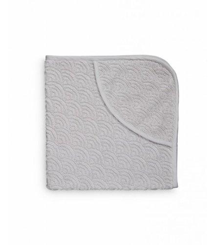 Cam Cam Copenhagen Hooded Baby Towel Grey GOTS