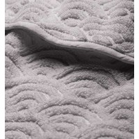 Hooded Baby Towel Grey GOTS