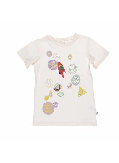 Stella McCartney Kids Arlow T-shirt / Top Coconut