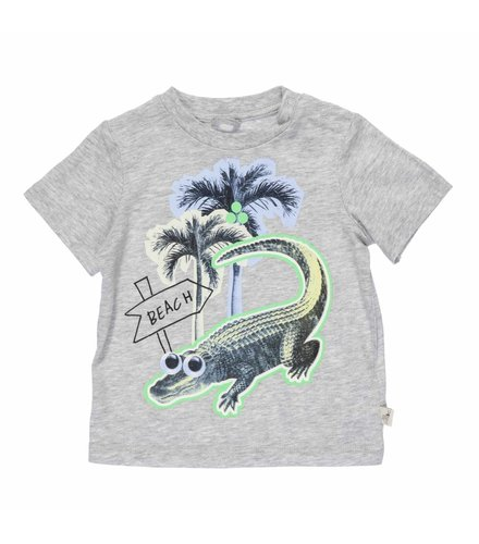 Stella McCartney Kids Chuckle, T-Shirt Grey Mel