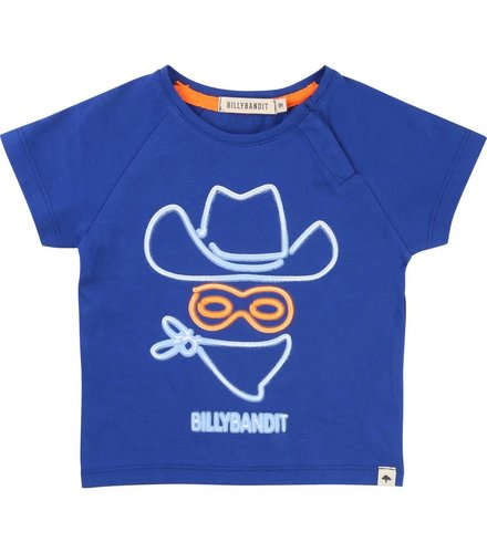 Billybandit T-Shirt Bleu Fanion