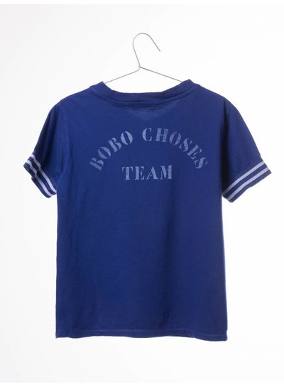 BOBO CHOSES T-shirt v neck b.c. team, mazarine blue