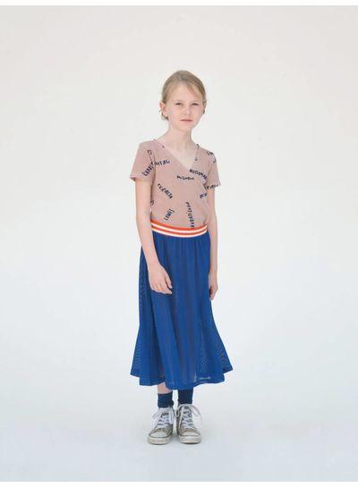 BOBO CHOSES Nadia Midi Skirt Blue , mazarin blue