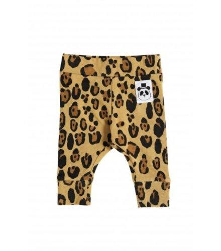 Mini Rodini Basic Leopard Nb Leggings Beige