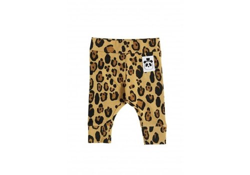 Mini Rodini Basic Leopard Nb Leggings Beige