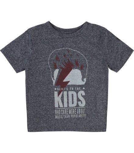 Zadig et Voltaire Kids T-Shirt Manches Navy