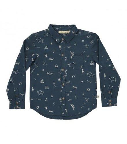 Soft Gallery Roy Shirt Mediterranea, AOP Tribe