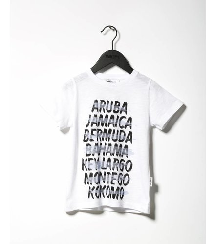 Someday Soon Kokomo T-shirt White