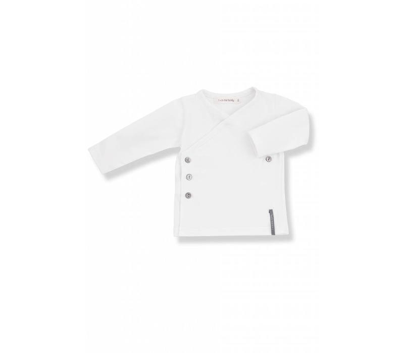 Maria Newborn Shirt White
