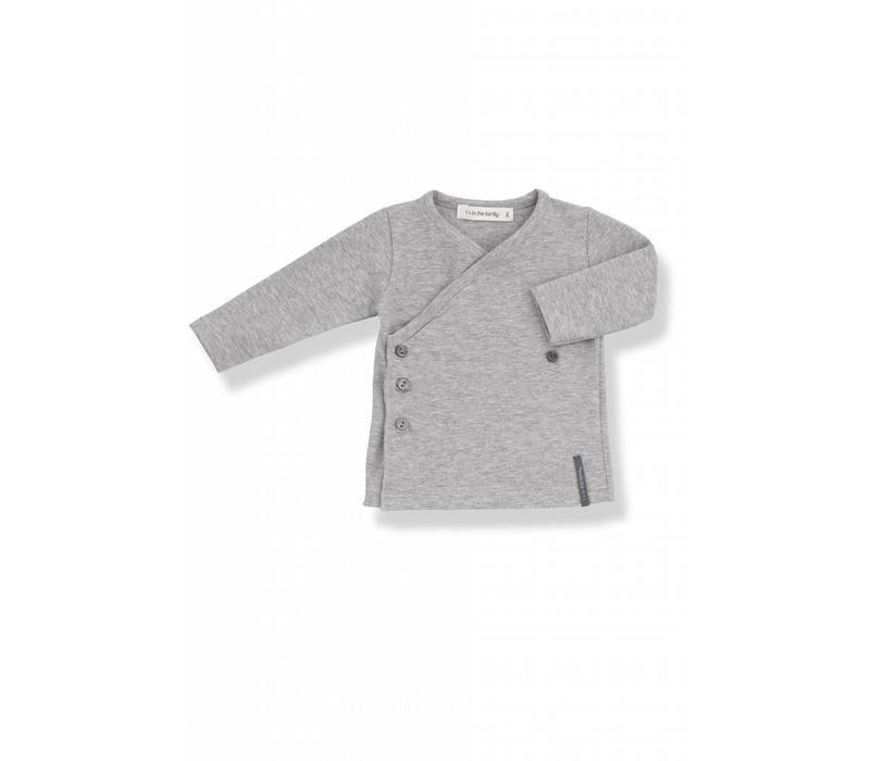Maria Newborn Shirt Grey