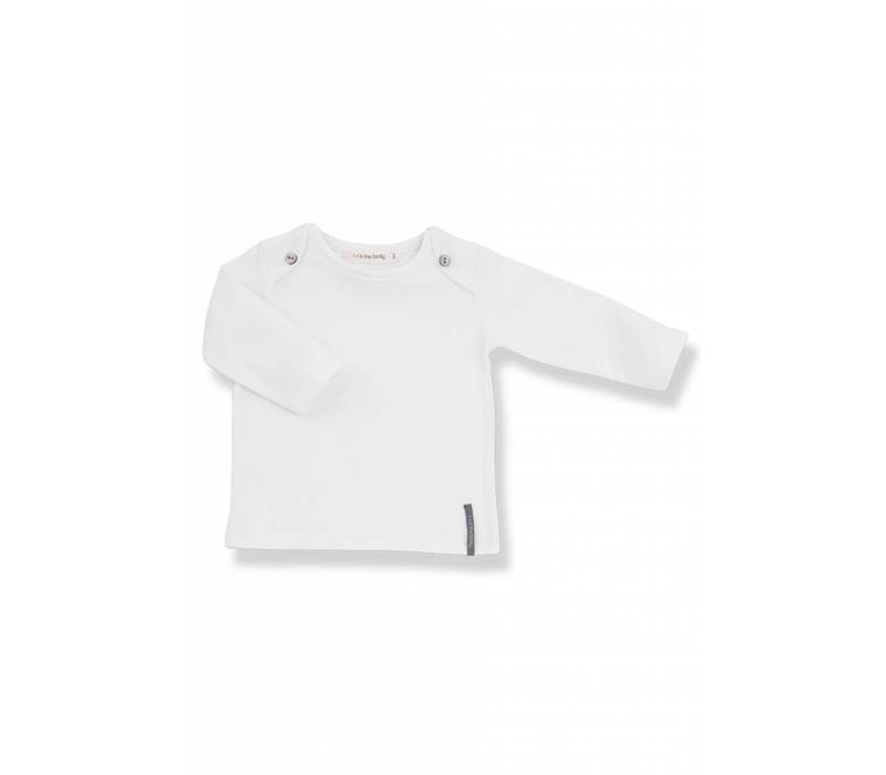 Norman Long Sleeve T-Shirt White