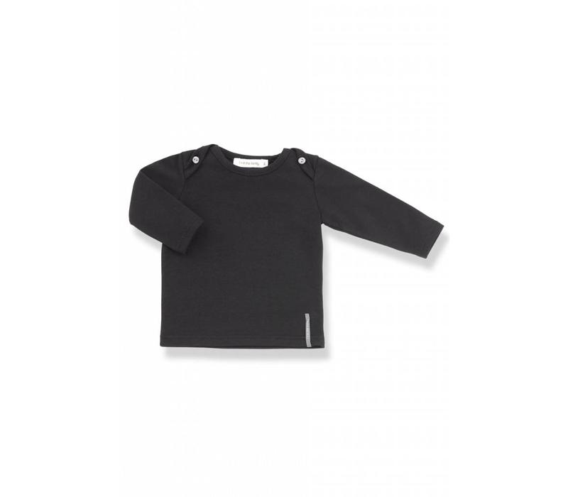 Norman Long Sleeve T-Shirt Black