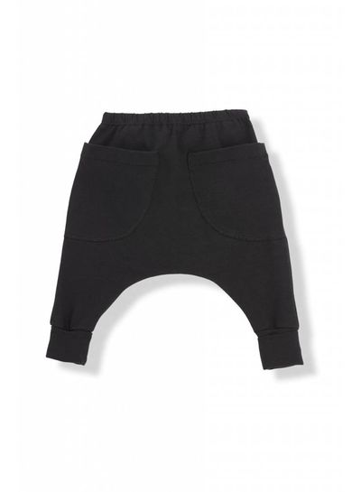 1 + More in the Family Raul Baggy Pants Black