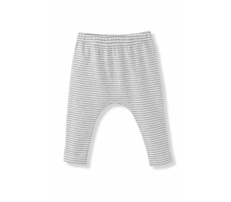 Pia Leggings White/Grey