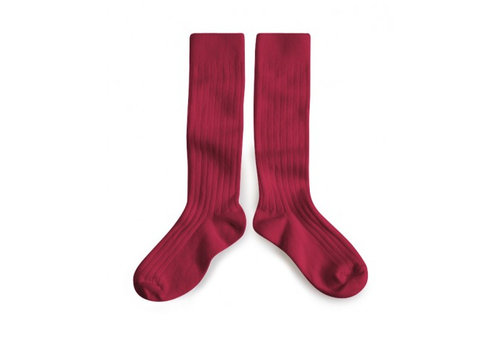 Collegien Knee socks - Marsala - Collégien