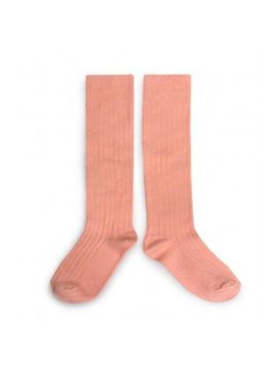 Collegien Knee socks - Abricot - Collégien