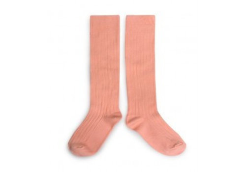 Collegien Knee socks - Abricot - Collégien