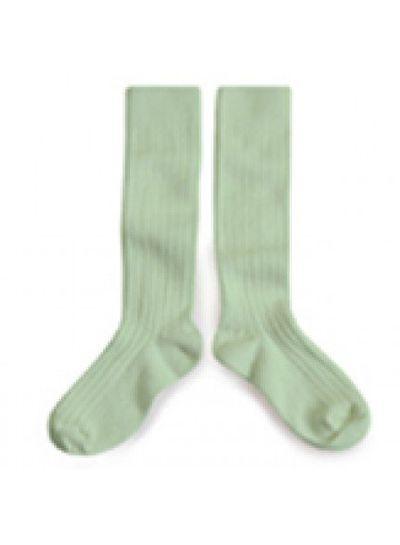 Collegien Knee socks - Tilleul - Collégien