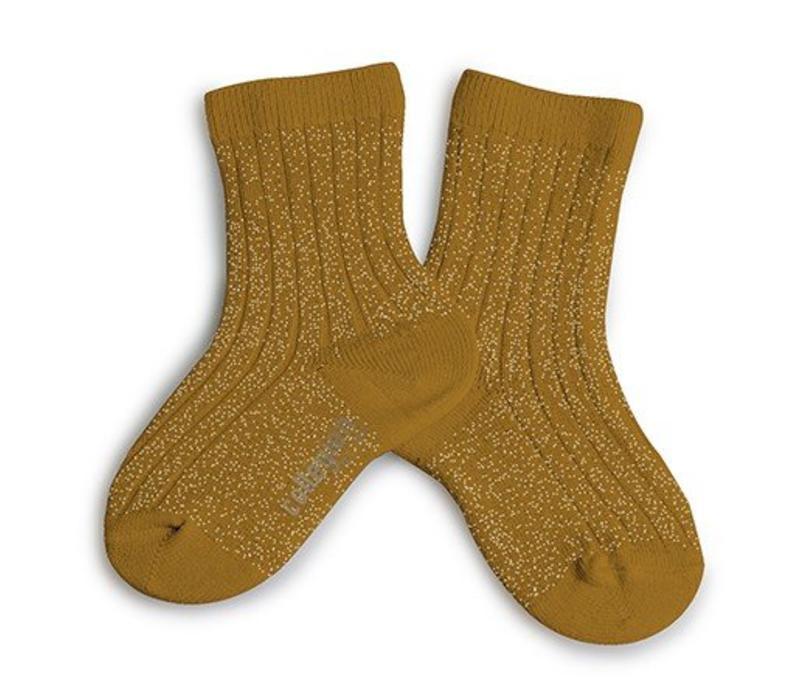 Lurex socks - MOUTARDE DE DIJON - Collégien