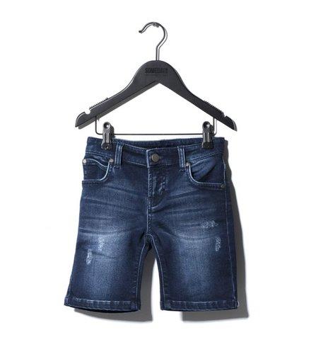 Someday Soon Carl Denim Shorts Blue