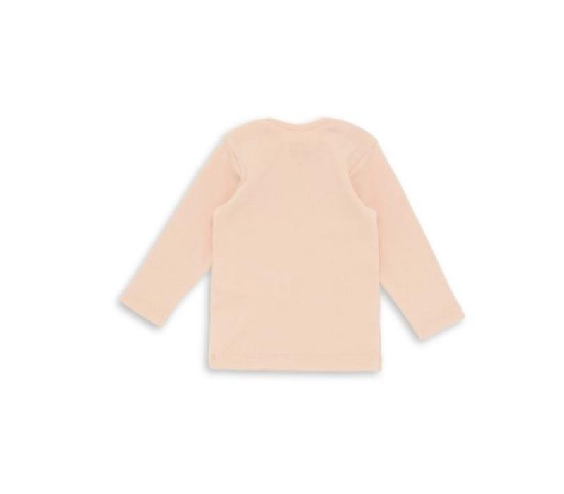 Baby Undershirt Rose Coquillage