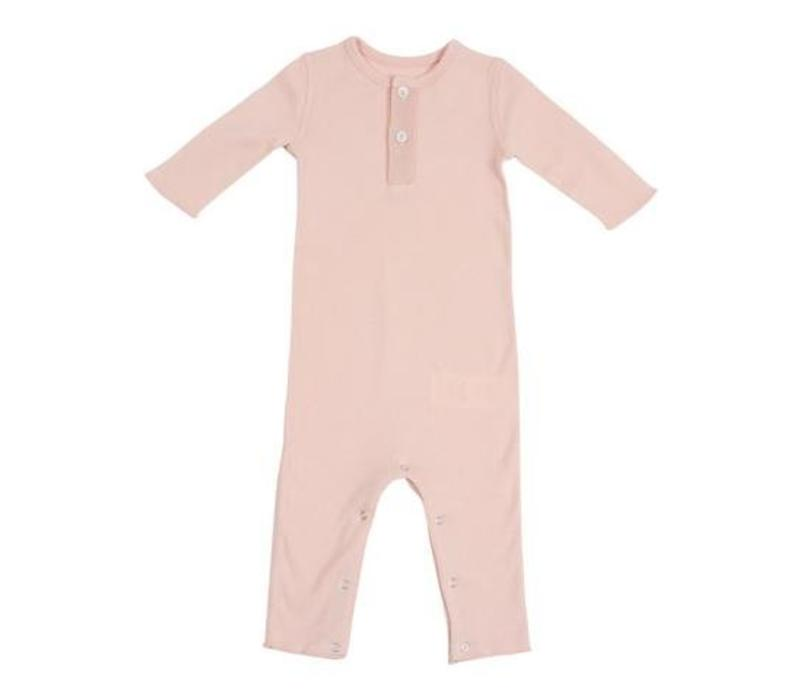 Baby Overall Rose Coquillage